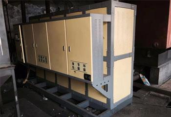 陕西省榆林市靖边县山水水泥有限公司2台电磁热水锅炉取暖