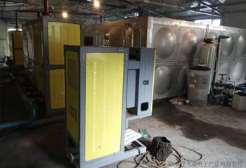 新疆某煤矿煤改电一万多平电磁锅炉采暖项目