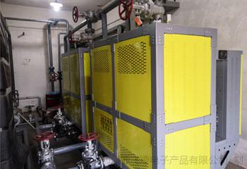 甘肃省庆阳市某采油一厂2台200KW电磁热水锅炉取暖