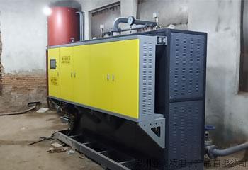 甘肃省庆阳市中石油3台电磁热水锅炉取暖