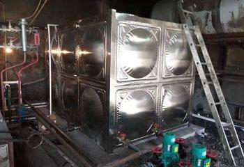 屠宰场三台电磁锅炉项目